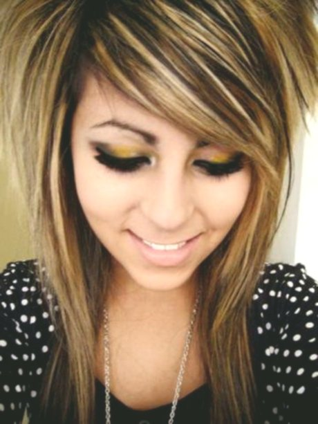 New Brown Hair With Blonde Hairstyles Collection Stylish Brown Hair With Blonde Strands Pattern