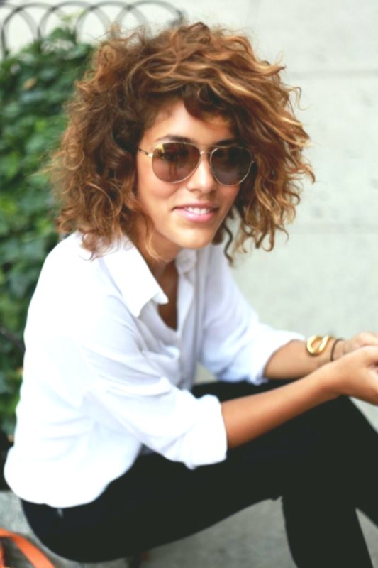 Inspirational Curly Hairstyles Short Ideas-Superb Curls Hairstyles Short Ideas