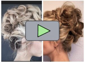 Photo of Charming instructions updo portrait