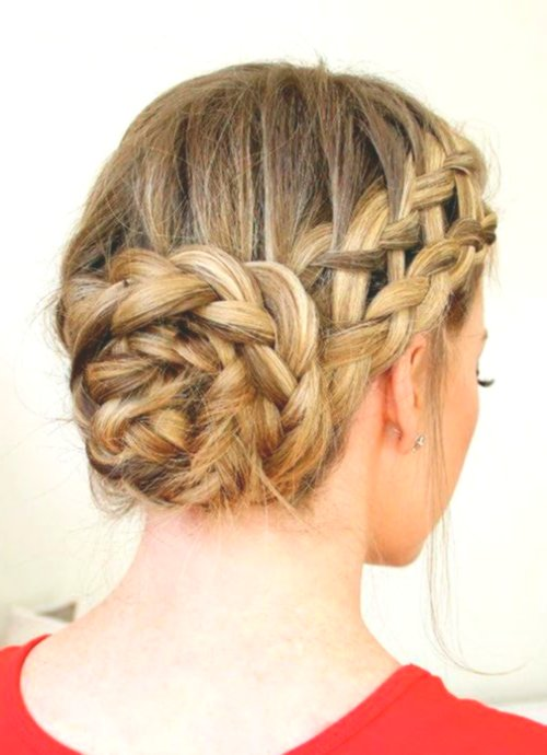 fancy updos braided décor-charming updos Braided layout