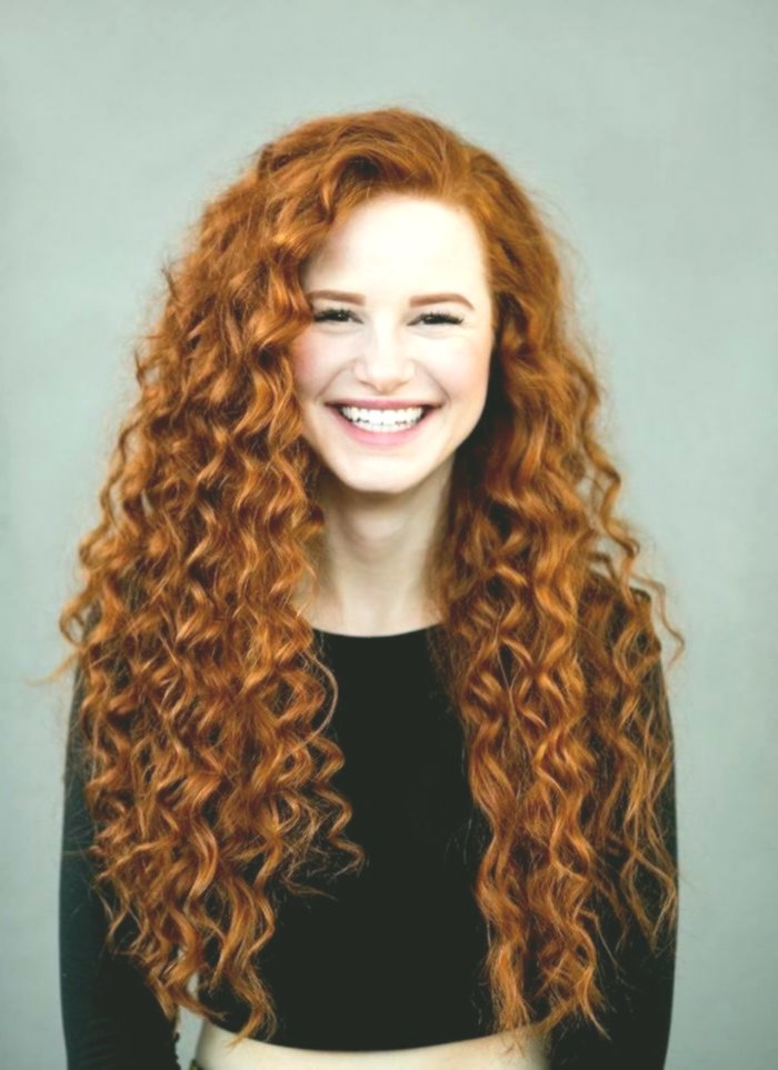 Nice red hair dye model - Lovely red hair dyeing layout