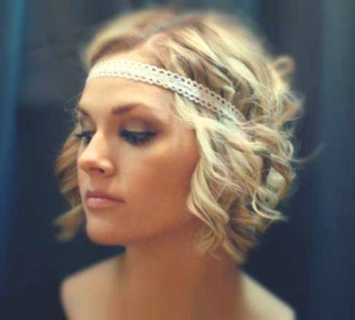 stylish short curly hair picture Terrific Short Curly Hair Concepts