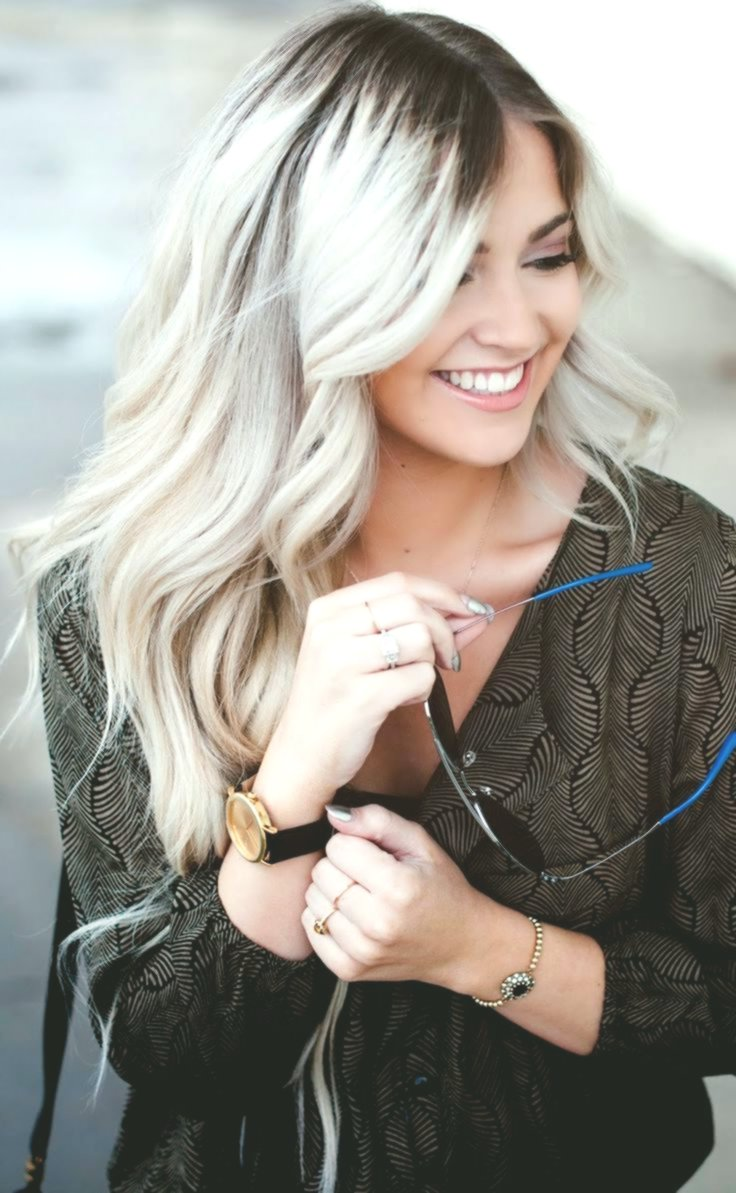 stylish hair color silverblue inspiration-new hair color silverblond photo