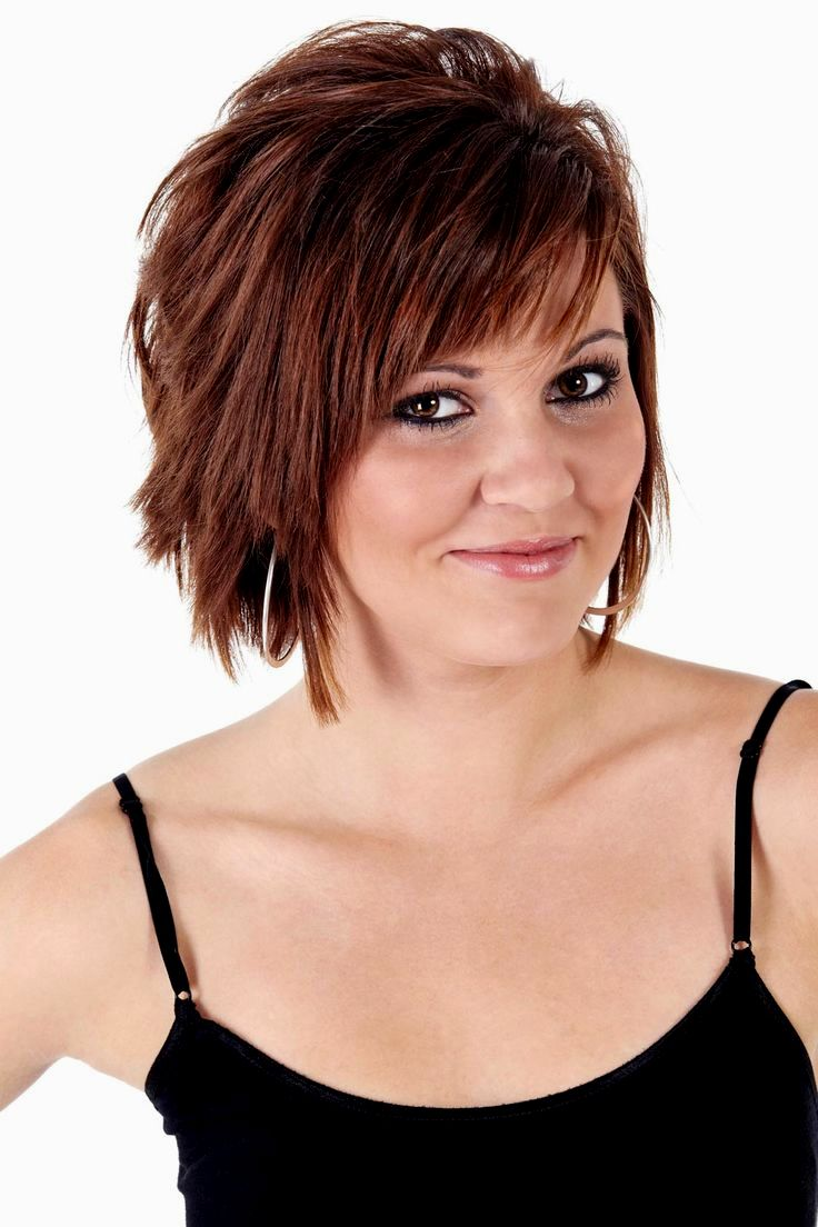 finest frilly short hairstyles model Superb fringe short hairstyles pattern