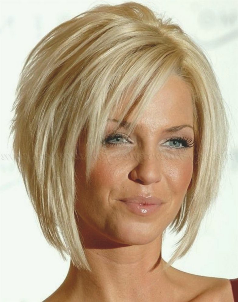latest hairstyles chin-lengthed image-Beautiful hairstyles chin-length tiered image