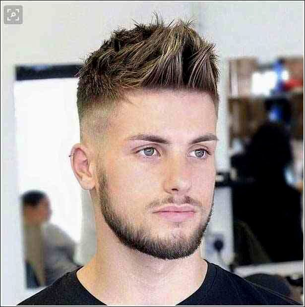 amazing awesome short hair man photo picture Cool Short Hair Man Decoration