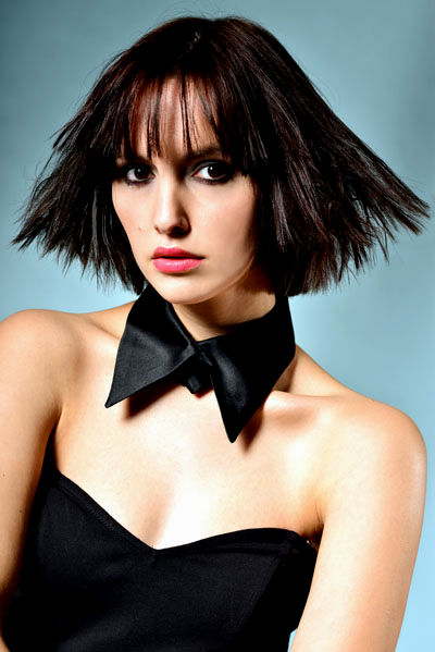 fascinating hairstyles half length with bangs pattern-unique hairstyles half length with pony gallery