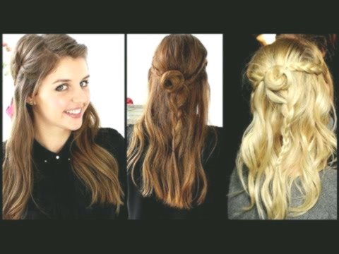 stylish braids with curls concept - Fascinating braids with curls construction