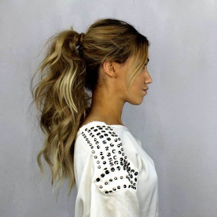 modern shoulder-length hair with pony photo-superb shoulder-length hair with pony inspiration