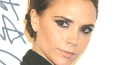 Photo of Victoria Beckham Chignon Hairstyles