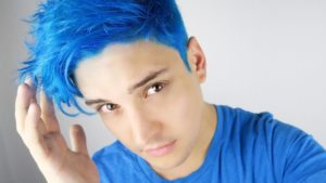 Photo of Excellent blue hair guys models