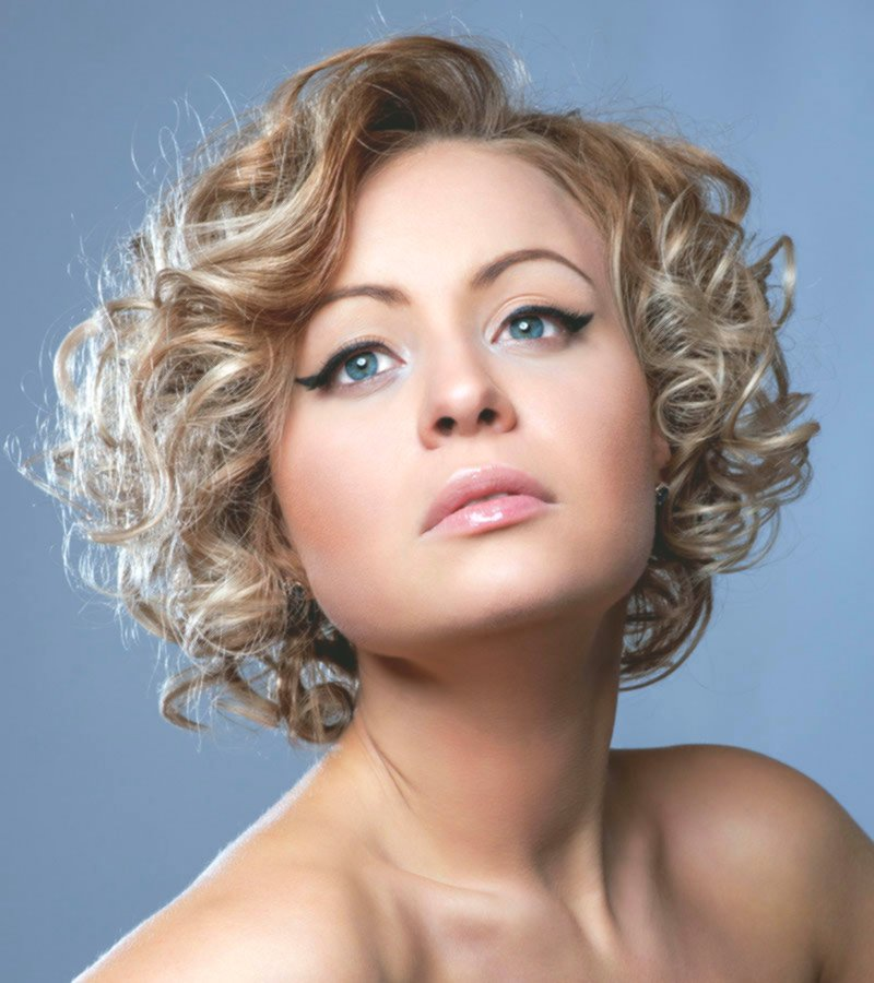 finest bob hairstyles curl model-Wonderful Bob hairstyles curls photography
