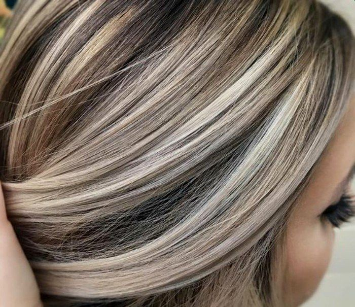 terribly cool gray hair blond dyeing image-Breathtaking gray hair blond dyeing ideas