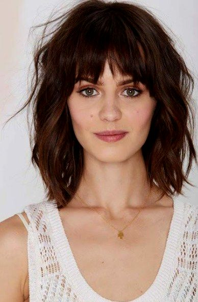 latest hairstyles half length with bangs inspiration-unique hairstyles half length with pony gallery