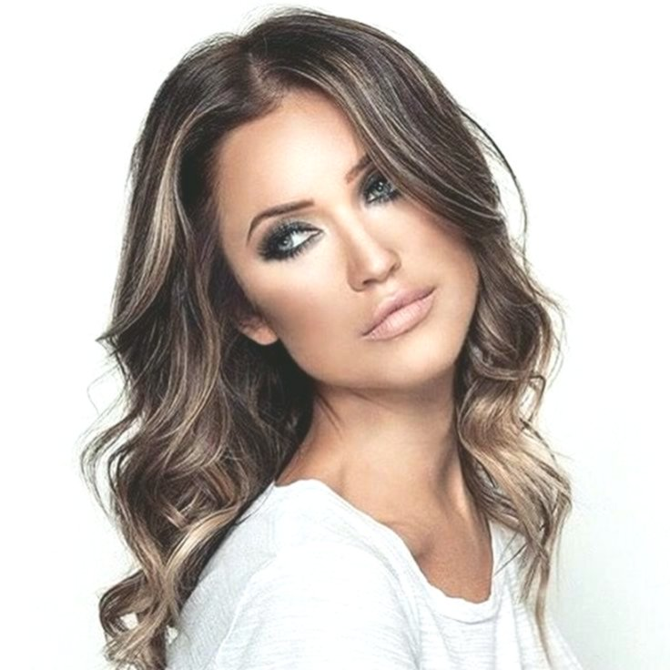 unbelievably dark brown hair with blond strands inspiration-New Dark Brown Hair With Blonde Strands Concepts