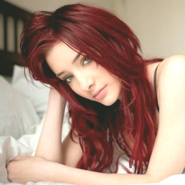 best dark red hair color décor-terrific dark red hair color photography