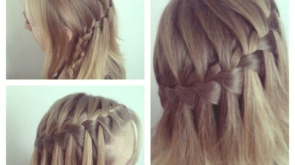 luxury braids with curls plan-Fascinating braids with curls construction