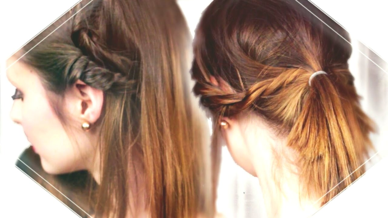 sensational cute simple hairstyles for shoulder-length hair concept-Cute Simple Hairstyles For Shoulder-length Hair Design