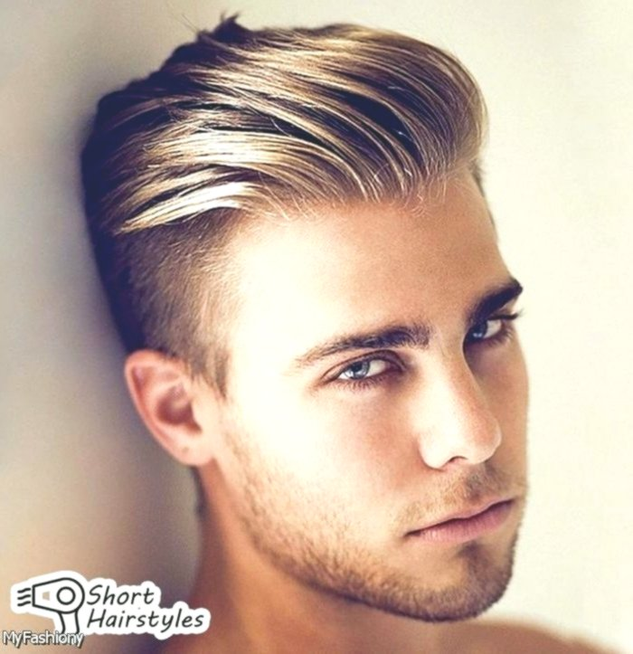 latest men's hairstyle short plan-Cute men's hairstyle short picture