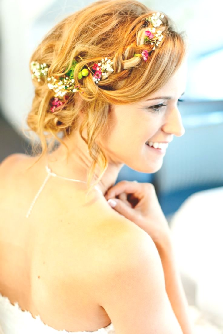 excellent wedding hairstyles with flowers concept-Fantastic wedding hairstyles with flowers decoration