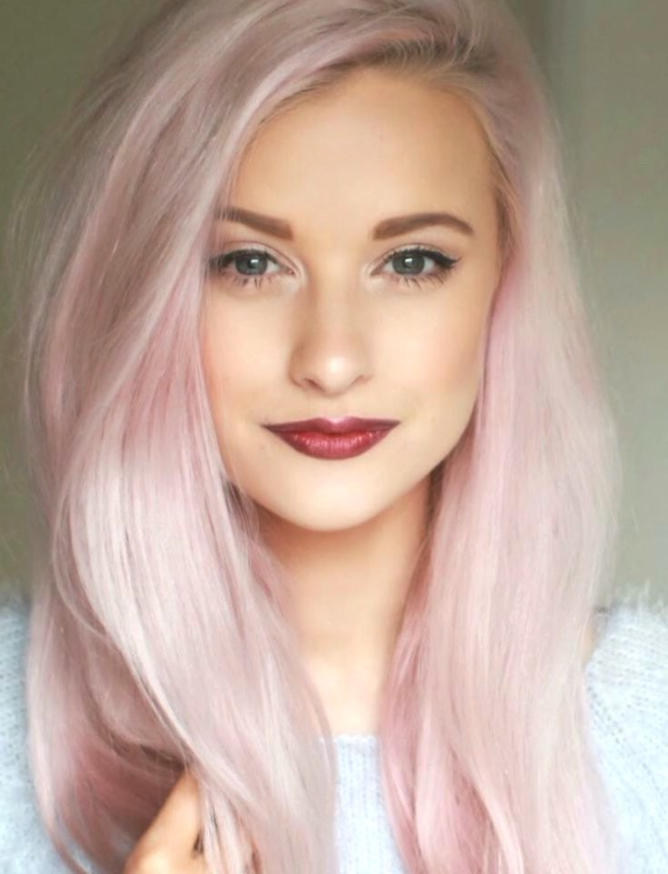 fancy blonde hair-colored design-Amazing blonde hair color photo