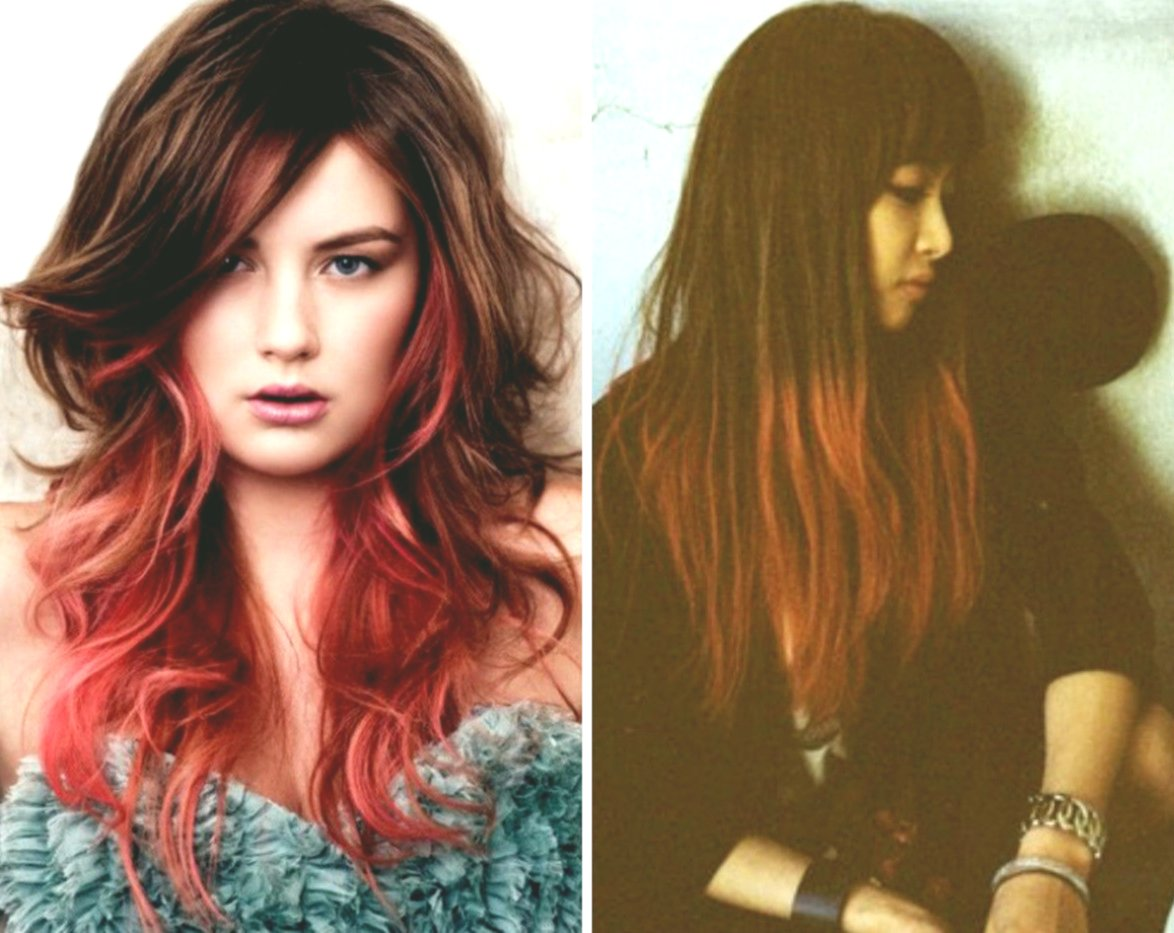 Excellent Hair Dyeing Brown Concept - Fresh Hair Dyeing Brown Portrait