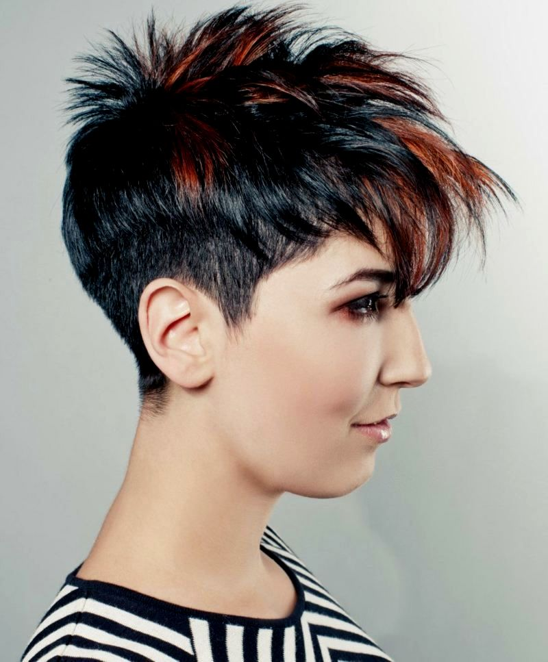 Inspirational very short hair women collection - Fancy Very Short Hair Women Photography