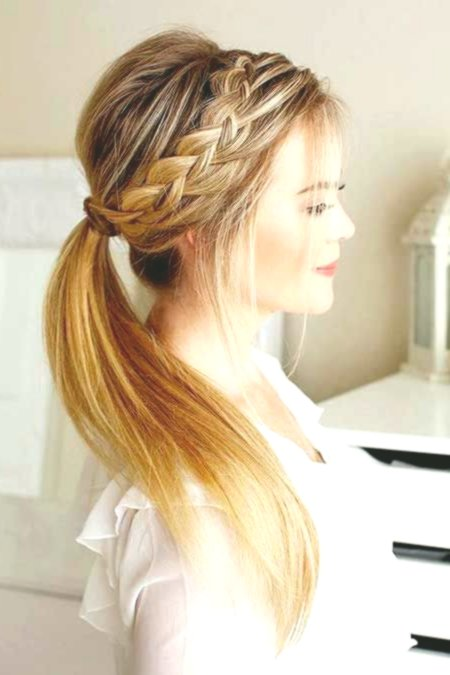contemporary hairstyles ponytail photo-Cute hairstyles ponytail inspiration