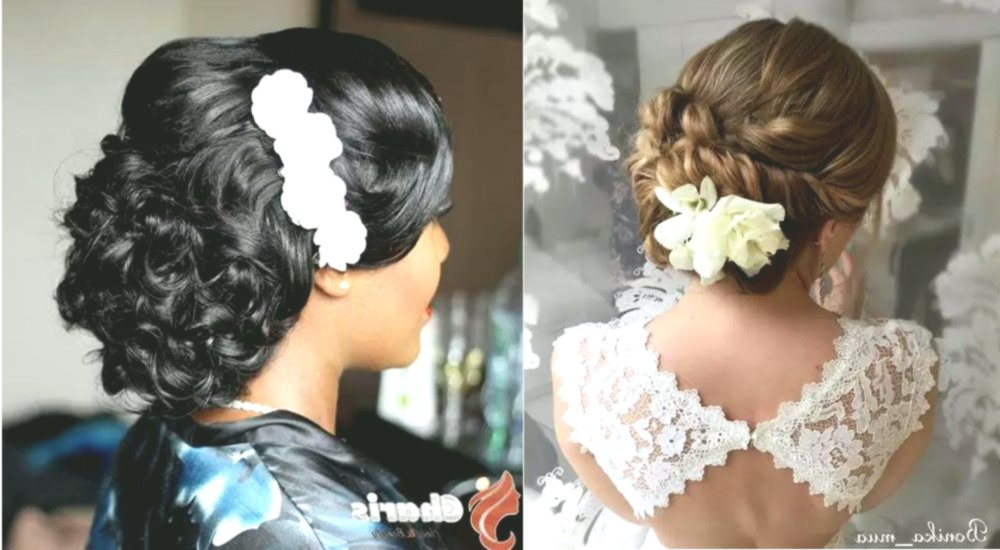 Fantastic wedding hairstyles medium length hair concept-Superb wedding hairstyles medium-long hair design