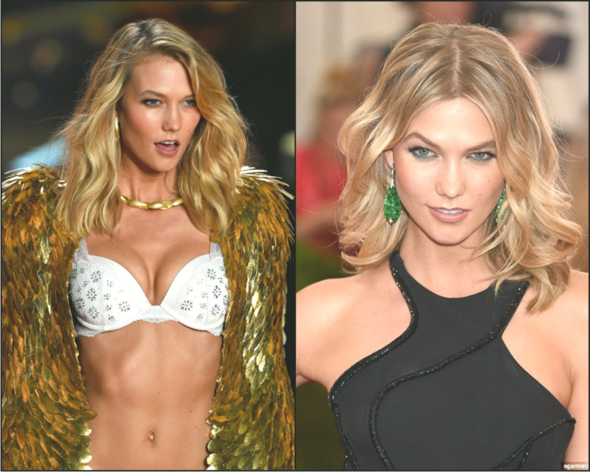 Wilde und nicey Victoria's Secret Models Frisuren