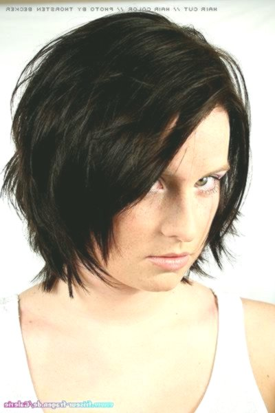 lovely bob hairstyles stage cut photo image - Fascinating Bob Hairstyles Tiered Cutted Wall