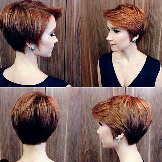 latest short hairstyles brown concept-modern short hairstyles brown image