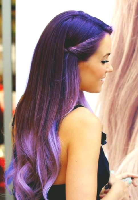 fancy gaudy haircolors collection-New Gaudy hair colors design