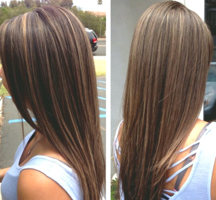 contemporary dark brown hair with blond strands décor-New Dark Brown Hair With Blonde Strands Concepts