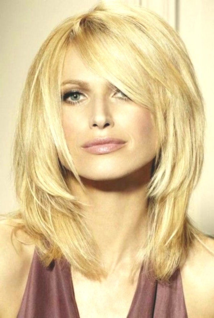 sensational cute hairstyles graded medium-length model-Incredible hairstyles tiered mid-length photo