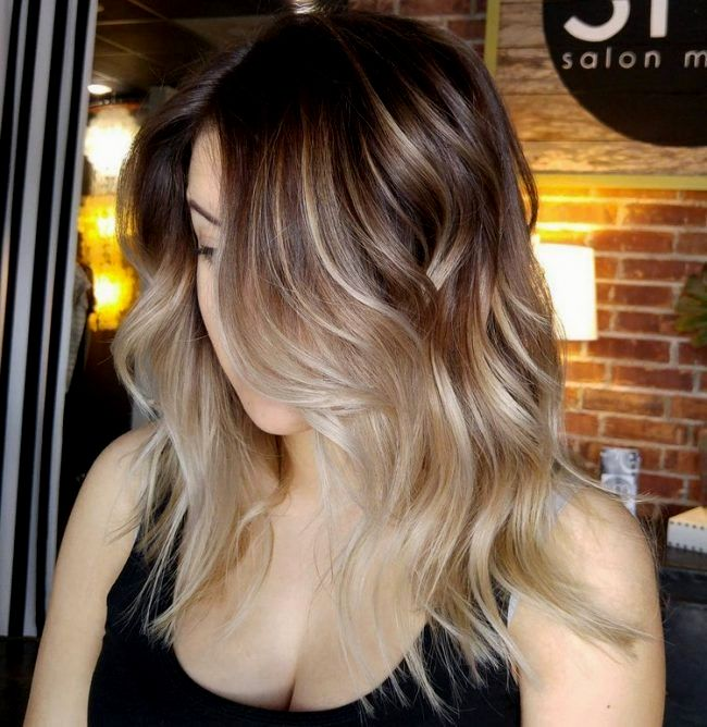 amazing awesome gray hair blonde dye design - stunning gray hair blond dyeing ideas