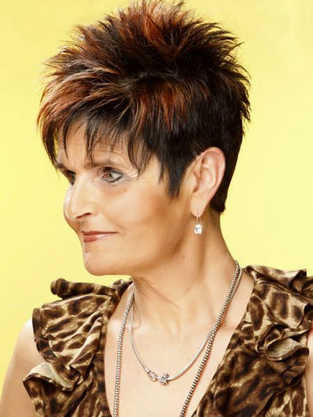 Elegant Ladies Short Haircut Decoration-Lovely Ladies Short Haircut Image