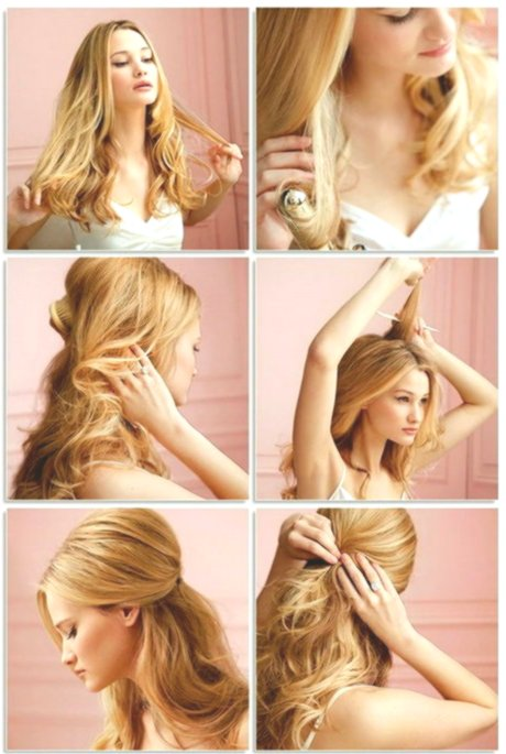 Fancy Fast Hairstyles For Long Hair Instruction Collection-Elegant Fast Hairstyles For Long Hair Instruction Collection