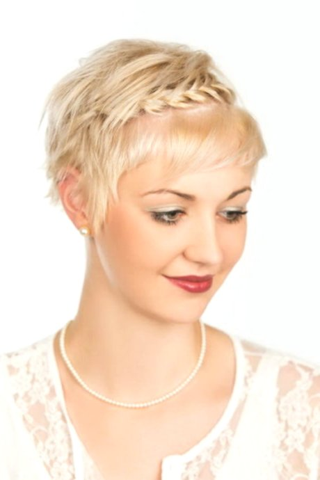 fascinating braiding short hair photo picture modern braiding Short hair pattern