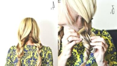 Photo of Casual hairstyles for every day: Low Ponytail Braid