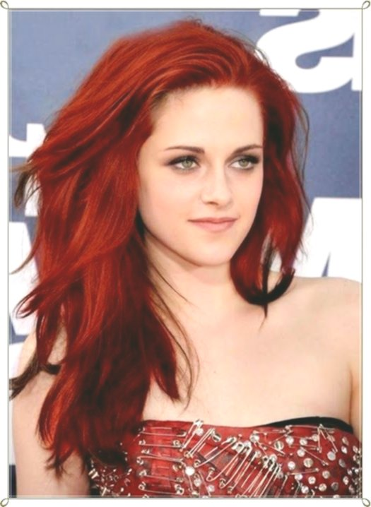 incredible hair red collection-stylish hair red photo