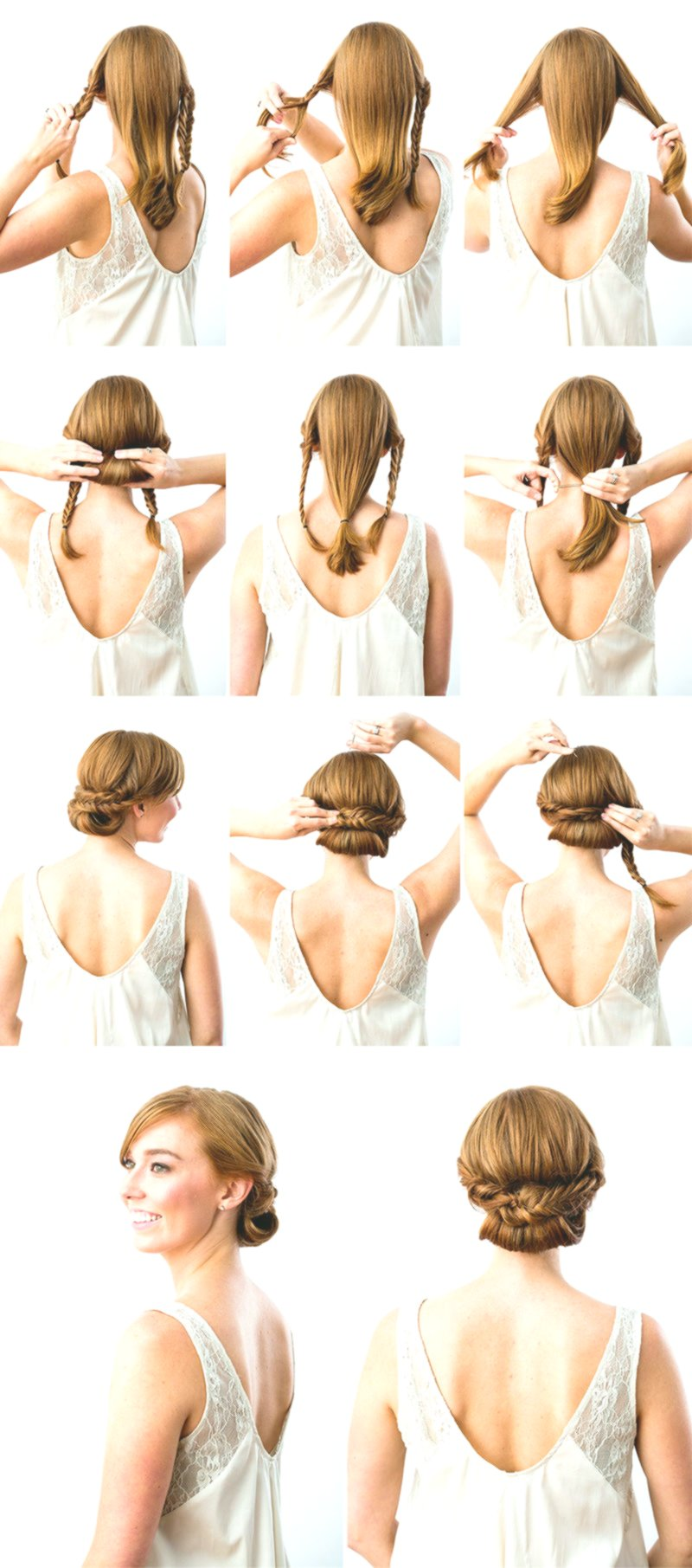 sensational cute simple hairstyling instruction architecture-Excellent Simple hairstyles instruction models