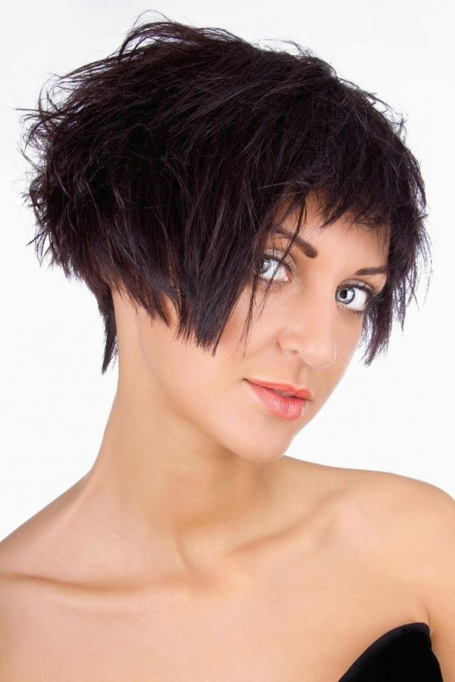 best short hairstyles fringed model-charming short hairstyles fringed models