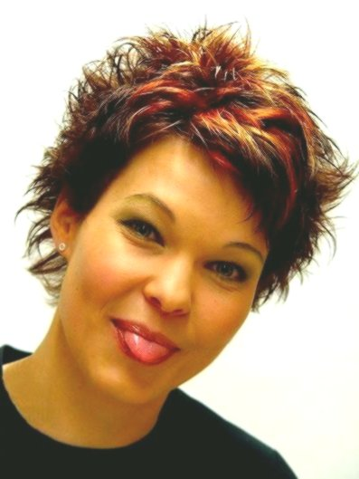 terribly cool short hairstyles for girls photo picture-elegant short hairstyles for girls gallery