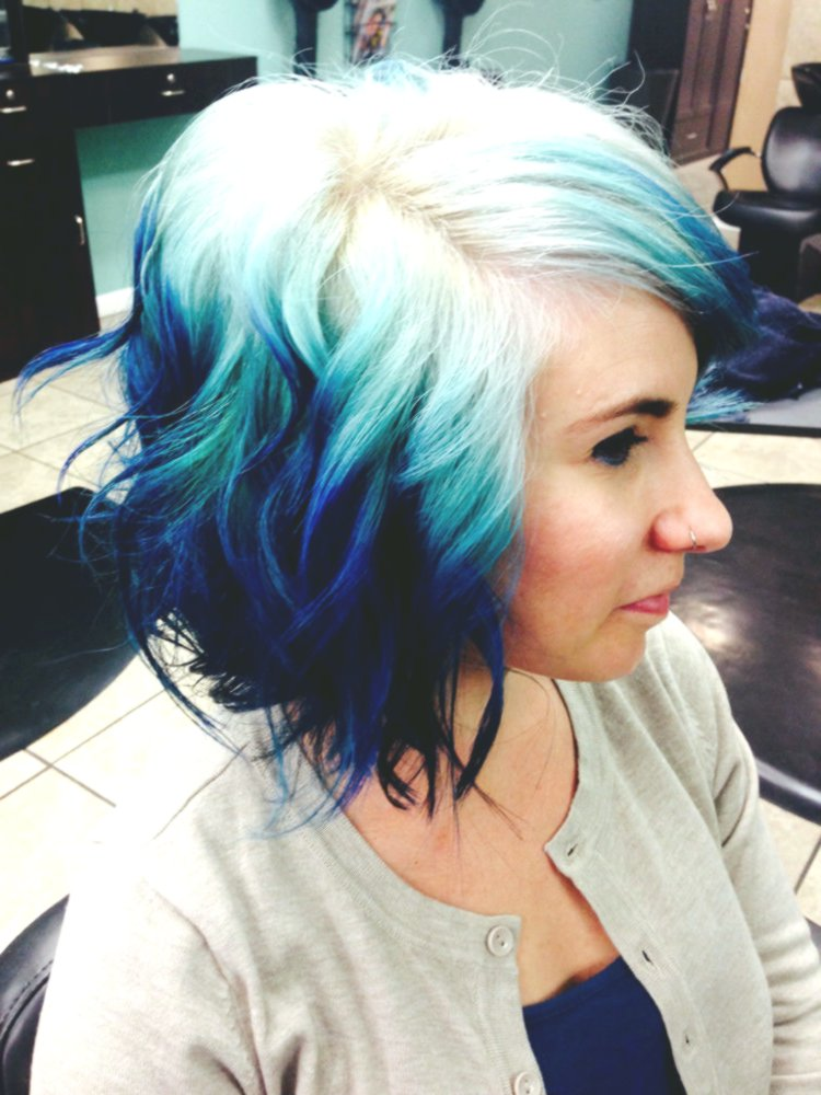 terribly cool blonded hair dyeing picture Sensational Blond Hair Dyeing Pattern