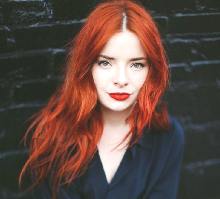 wonderfully stunning red hair dye model-Lovely Red Hair Dyeing Layout