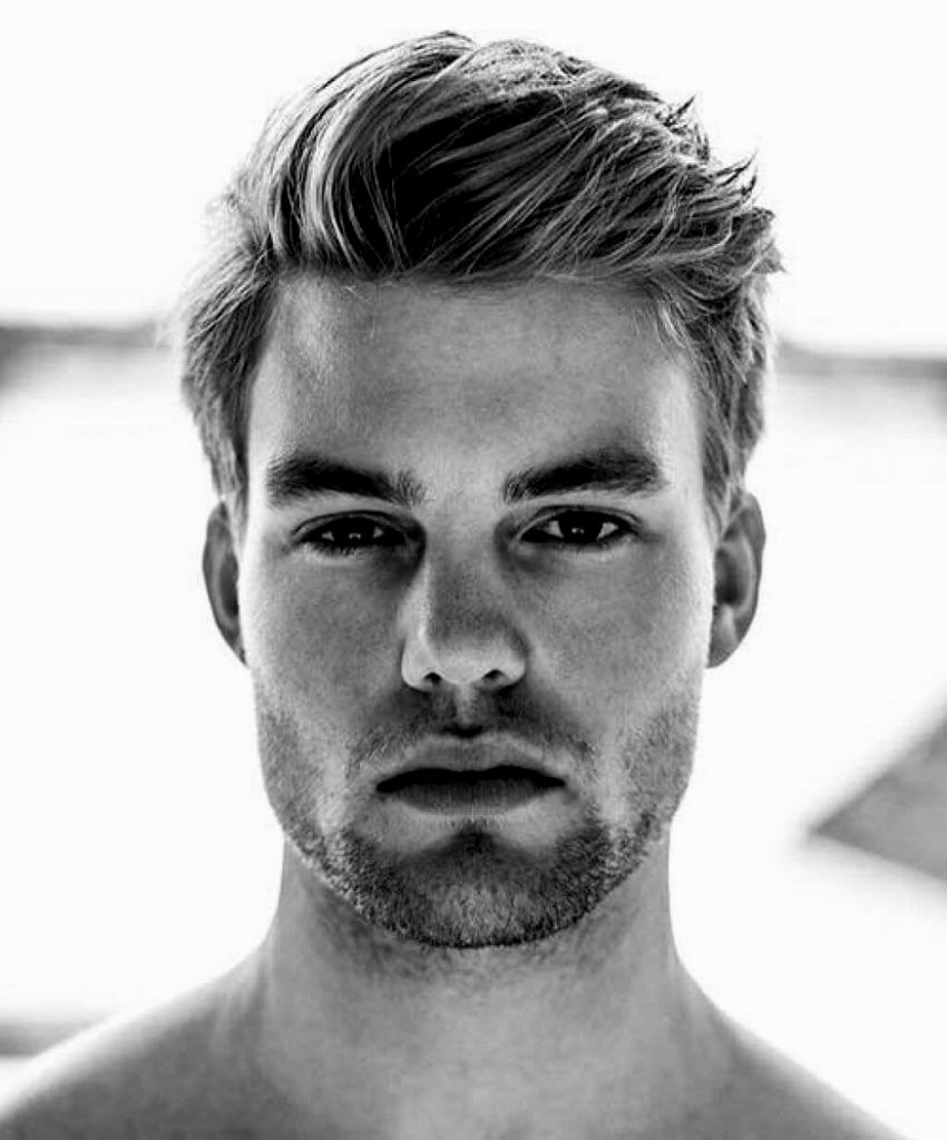 Outstanding Men Hairstyling Little Hair Architectural Charming Men Hairstyling Little Hair Portrait