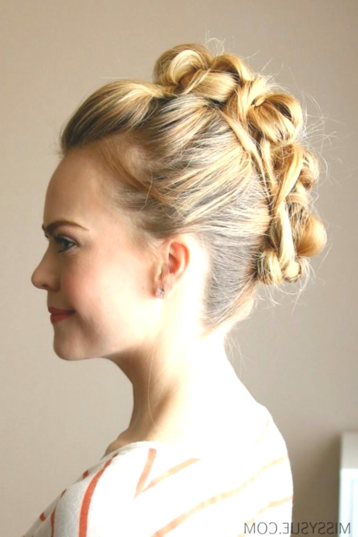 new updo laterally décor-modern updo side photo