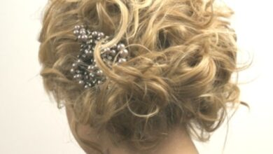 Photo of 10 pretty updos for short hair