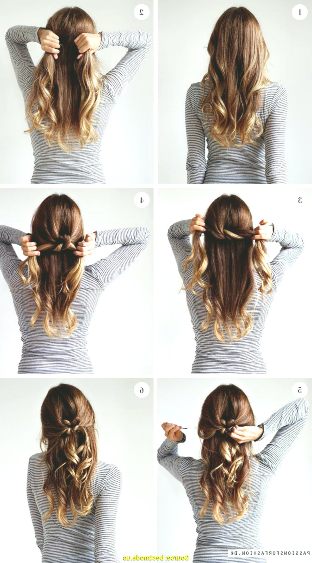 elegant hairstyling instructions image-Awesome hairstyles instructions wall